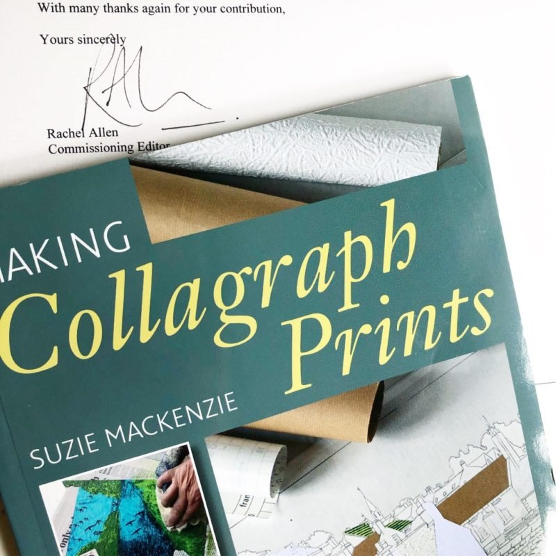 Making Collagraph Prints - a book by Suzie Mackenzie