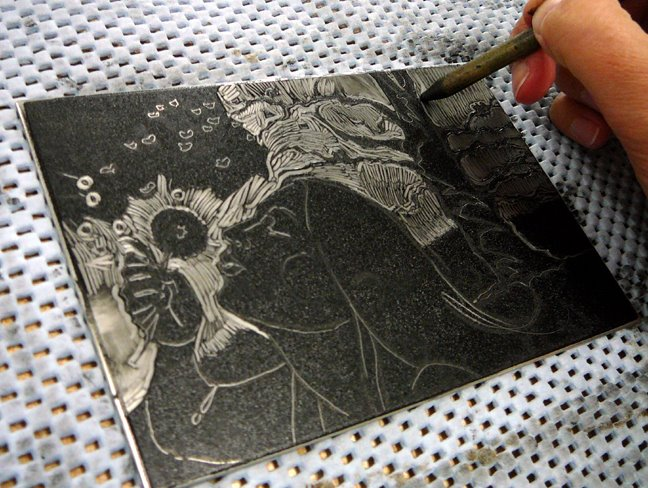 dark-field-monotype-process