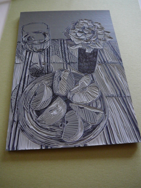 linocut ideas for still life prints