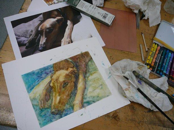 portrait-of-a-dog-monotype