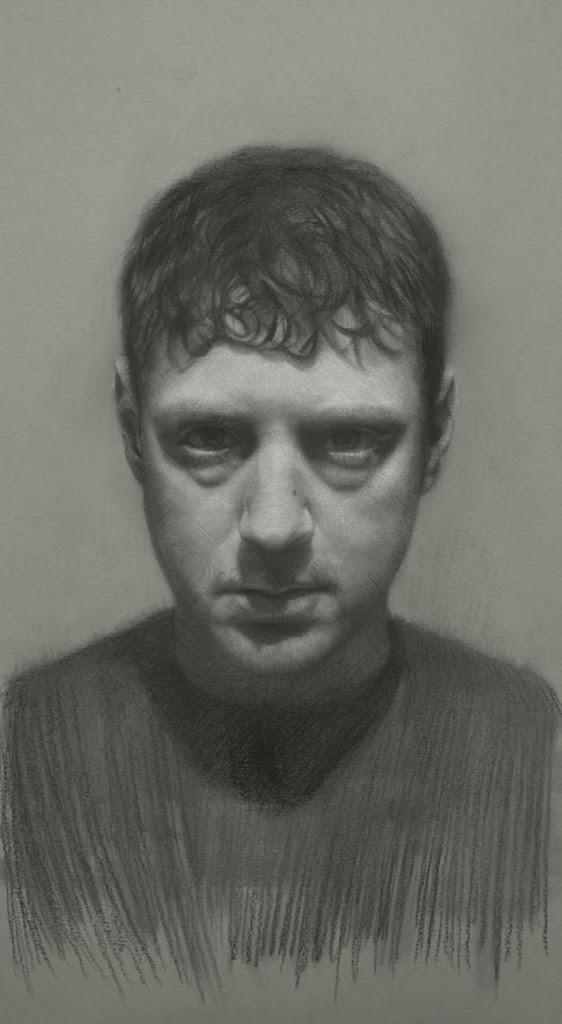 David Kassan self Portrait in pencil
