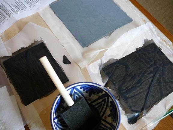building silk aquatint plates 2019