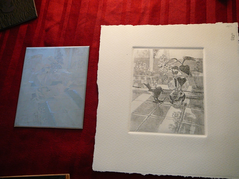 etching-plate