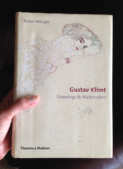 gustav klimt watercolors and drawings