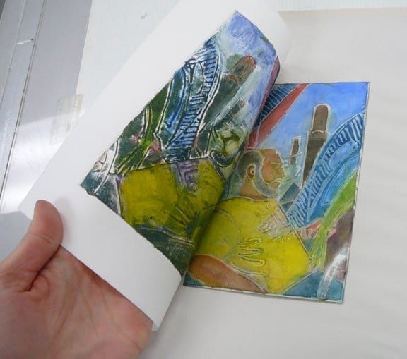 pulling-a-glue-collagraph