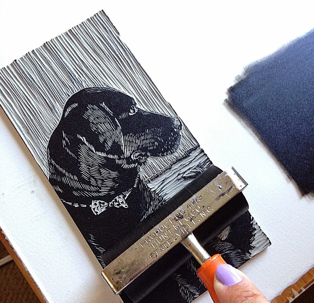 make an artist's plan for more printmaking next year