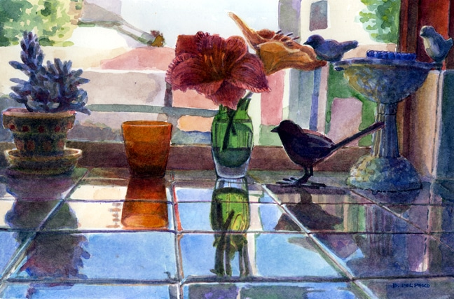 painting-reflections-in-watercolor