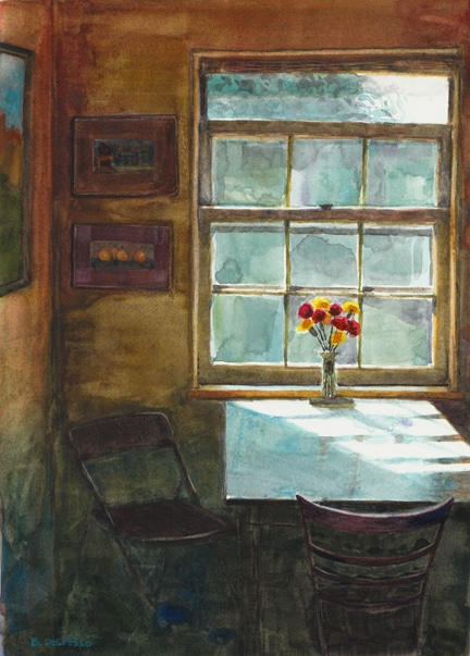 breakfastnookwatercolorinterior