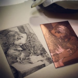 drypointplateandprintgush