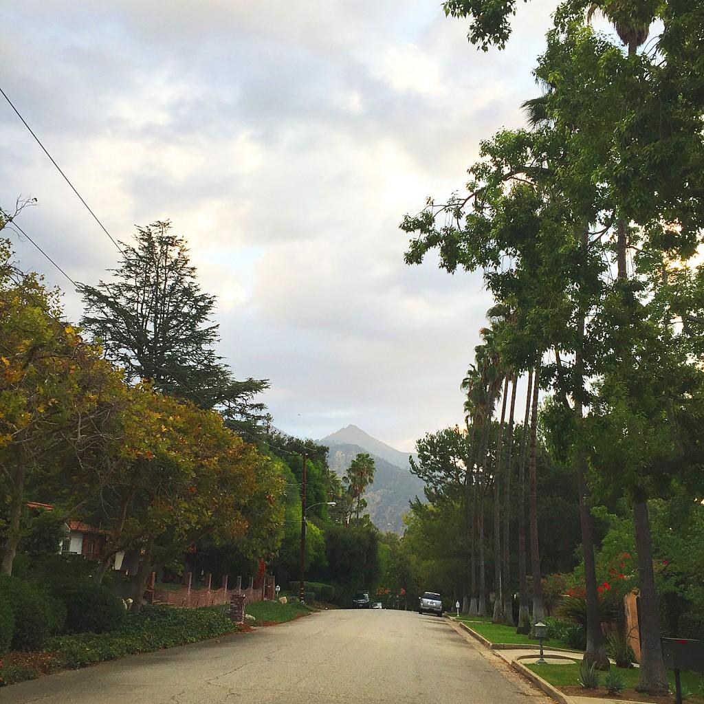 clouds in altadena california