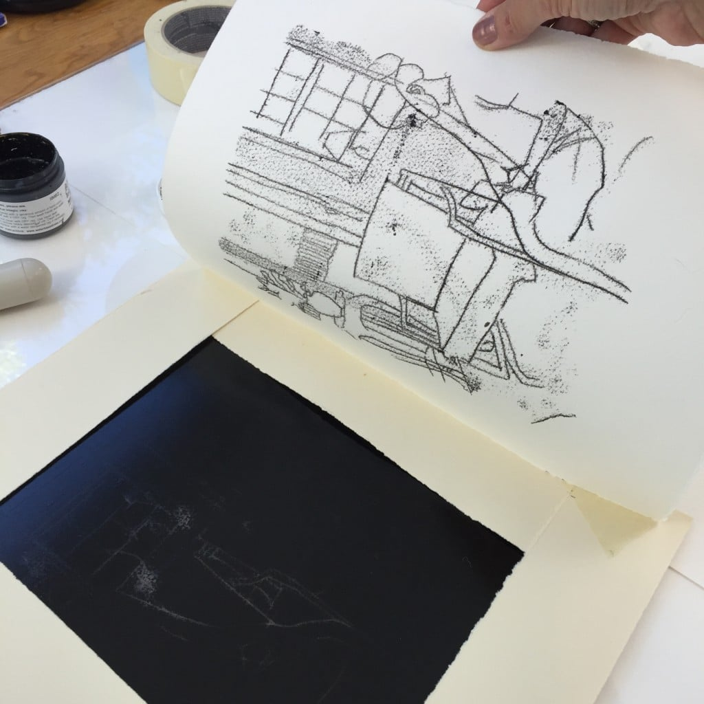 trace-monotype-mark-making-process