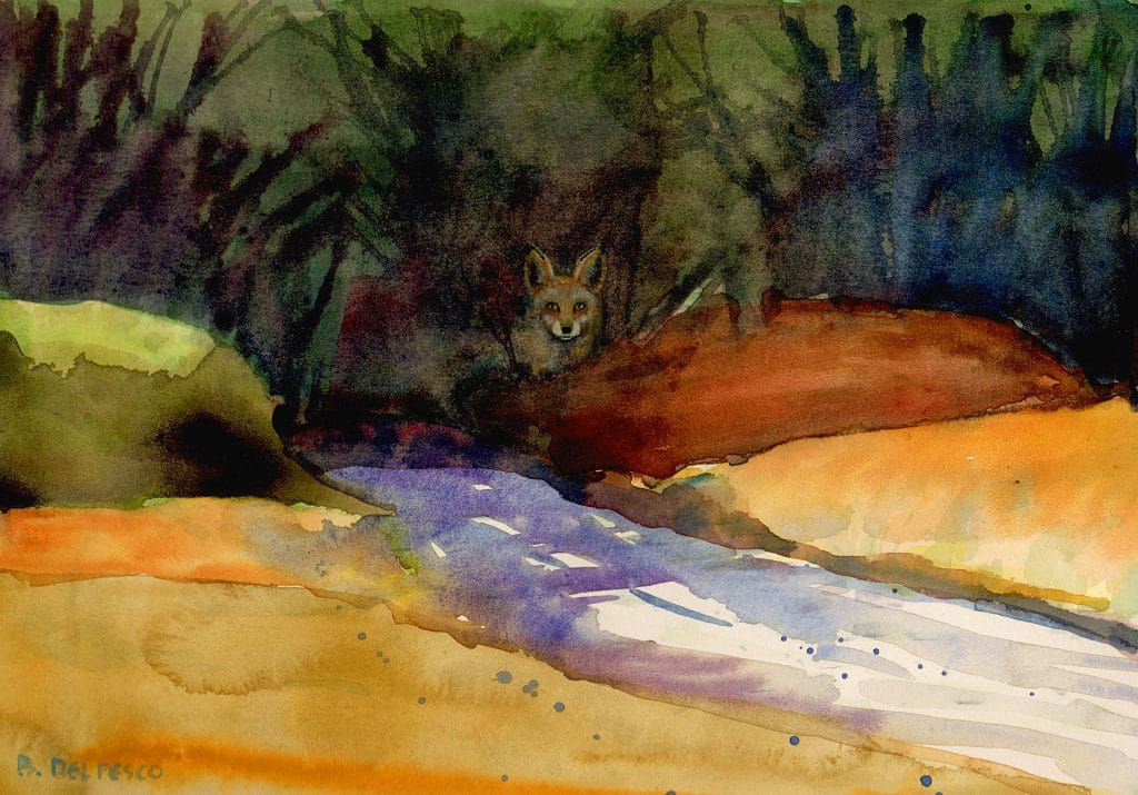 woodlands-fox-watercolor