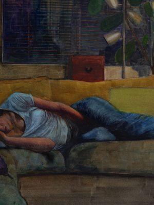unwind-watercolor-figurative