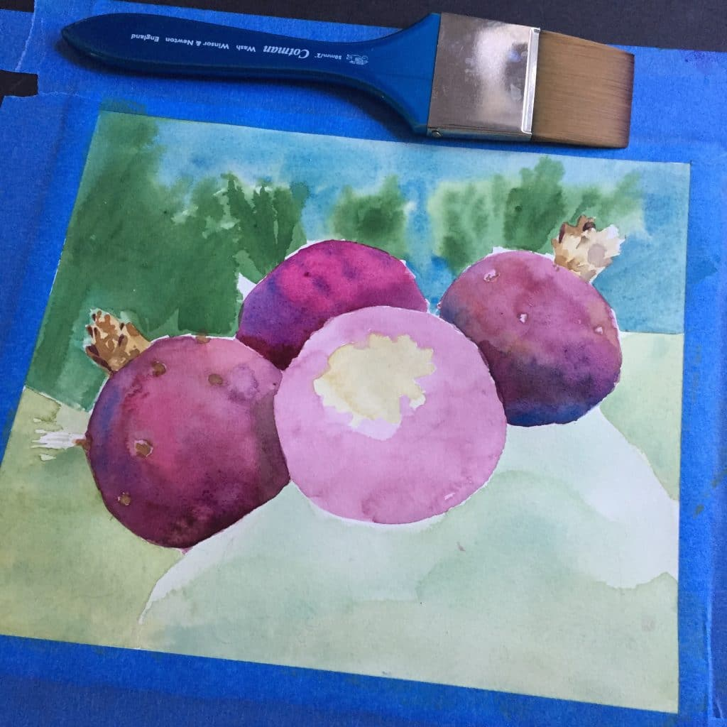 glazing-watercolours