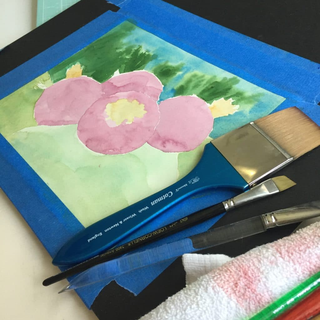 watercolor-glazing