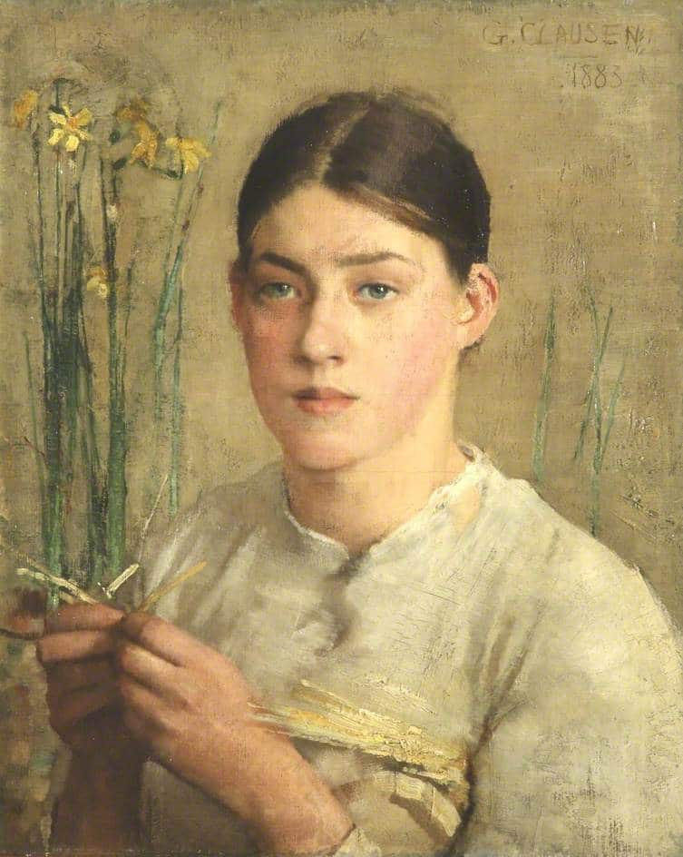 Clausen, George; A Straw Plaiter; Walker Art Gallery; http://www.artuk.org/artworks/a-straw-plaiter-98283