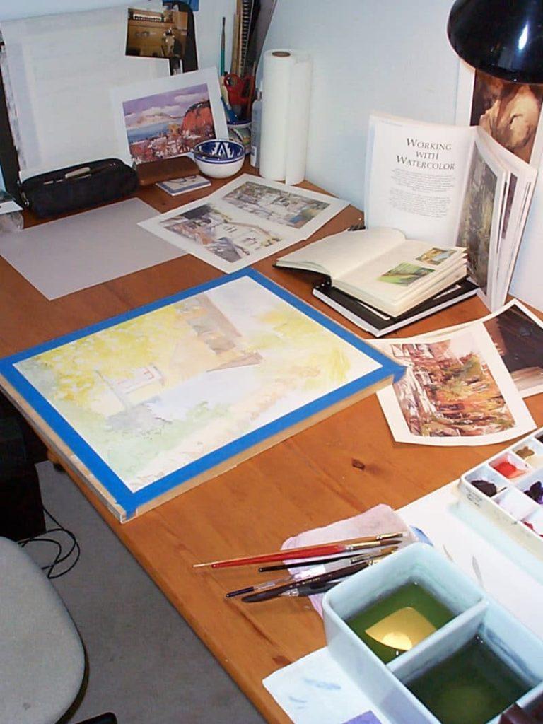 watercolor-set-up