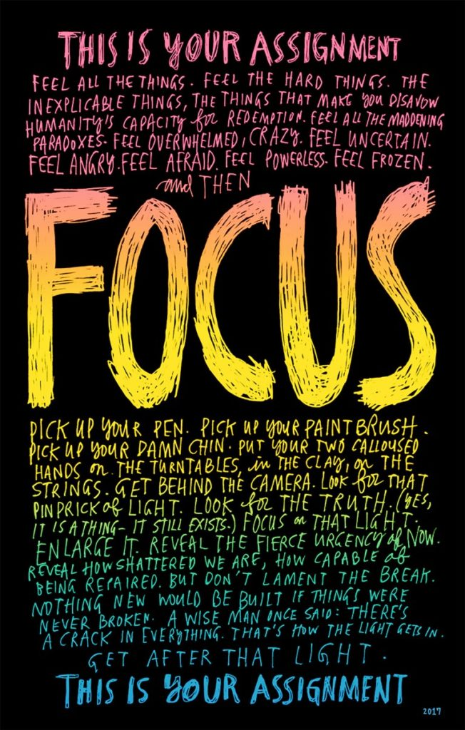 a quote about focus