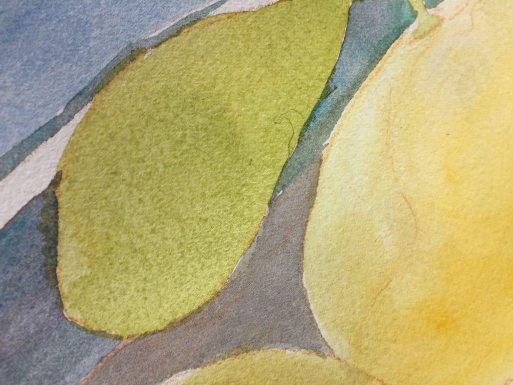 glazing in watercolor