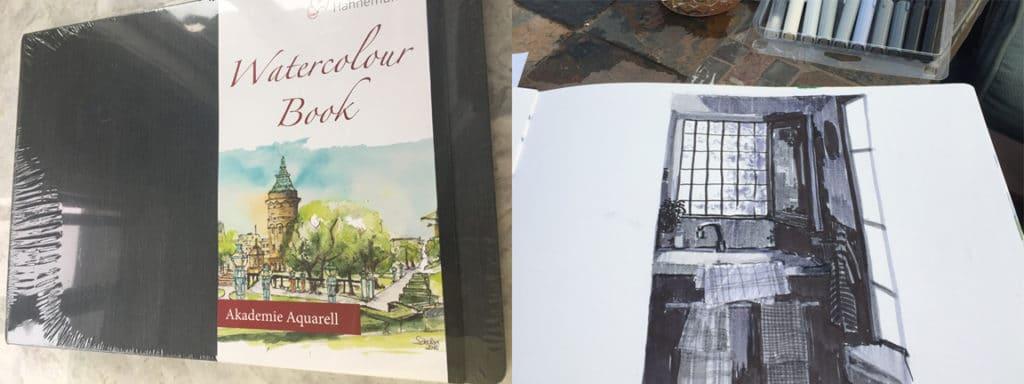 Hahnemühle Watercolor Book