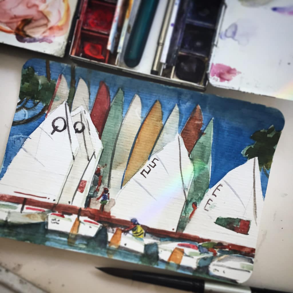 Hahnemühle-watercolor-postcards