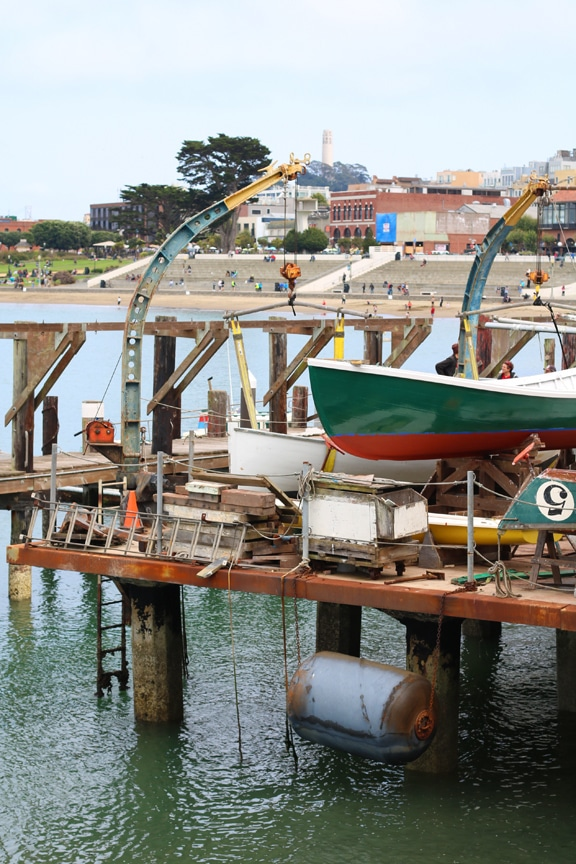 Sea Scouts in San Francisco at Aquatic Cove Marina