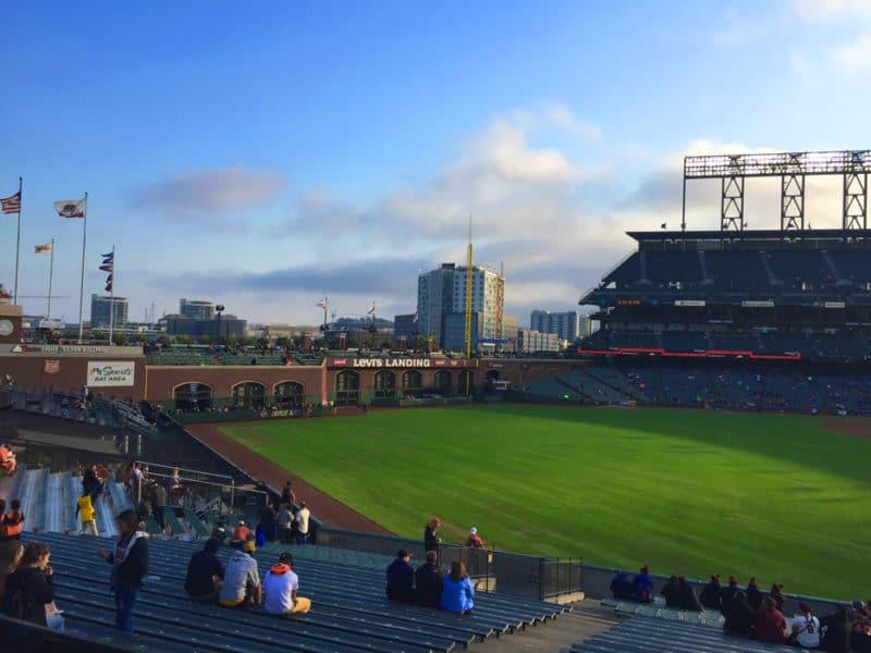 giants baseball field in san francisco