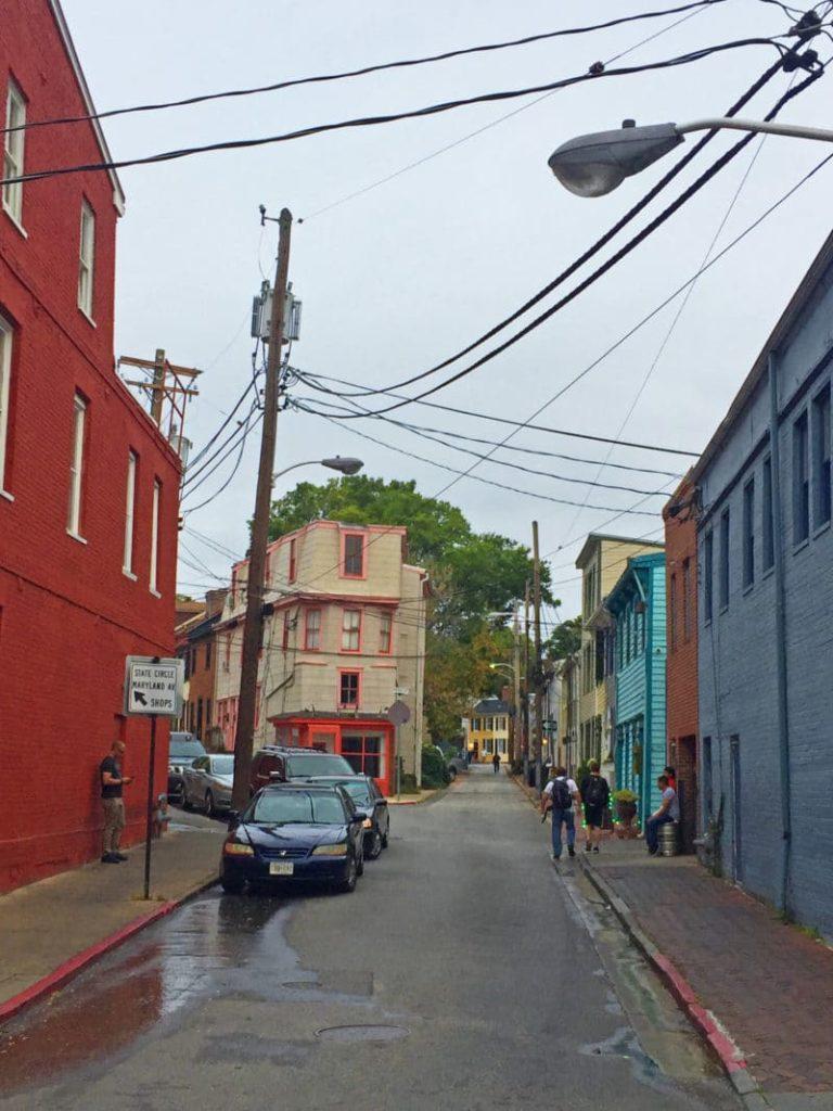 fleet street in annapolis