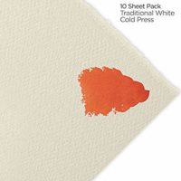 "Fabriano Artistico 140 lb. Cold Press 10-Pack 22x30"" - Traditional White"