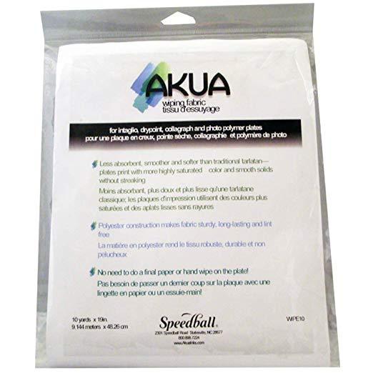 Akua Wiping Fabric (Tarlatan) for Cleaning Intaglio Printmaking Plates