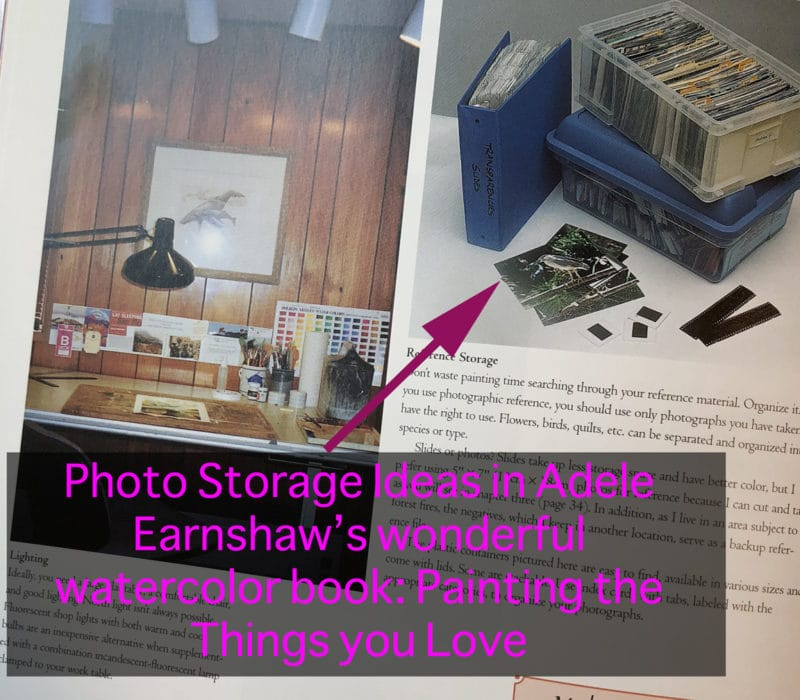 photo storage for artists