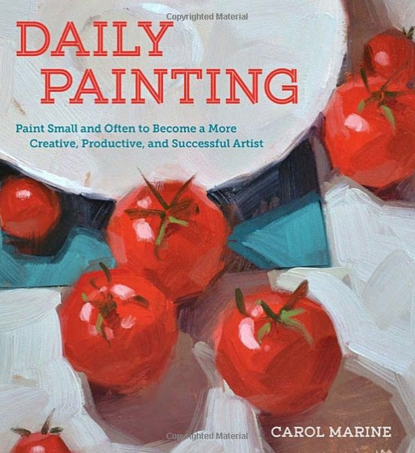 Carol Marin's book on Daily Painting