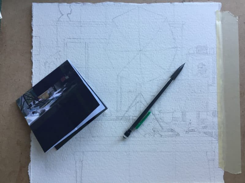 grid method of drawing transfer