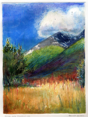 landscape monotype-print-with-watercolor