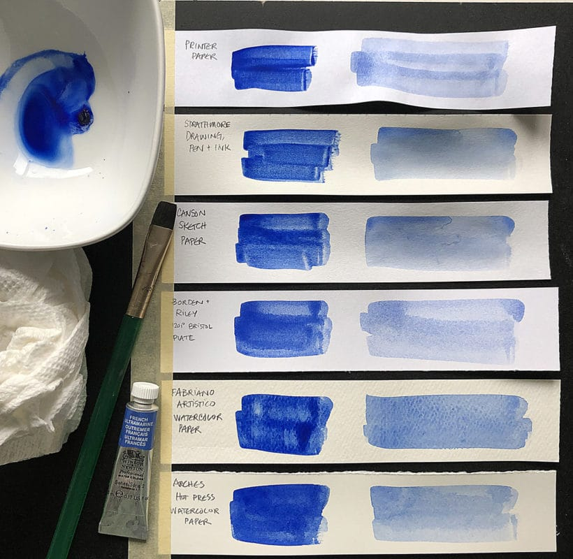 How to select the right watercolor paper for your painting style