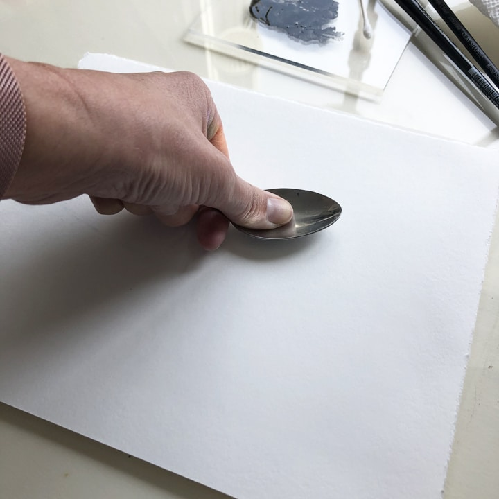 transferring a monotype without a press