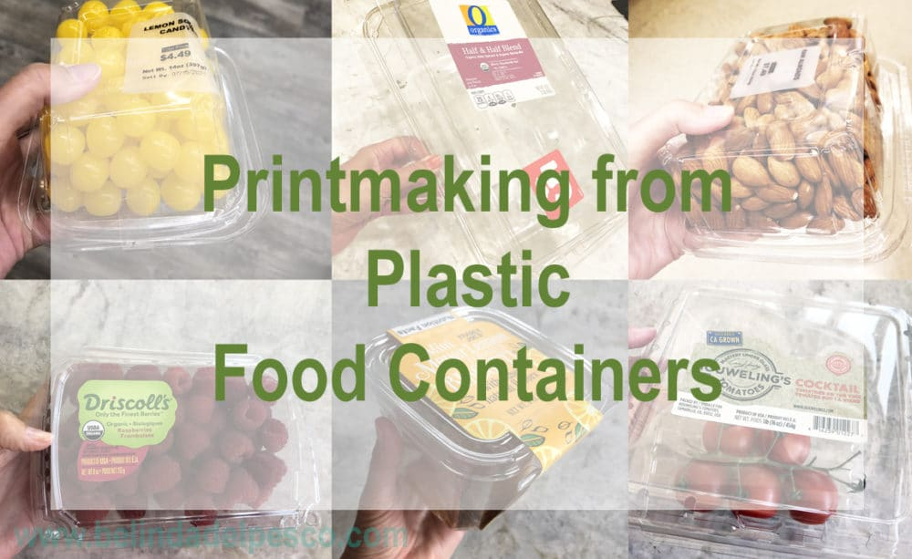 Printing from Plastic Food Containers