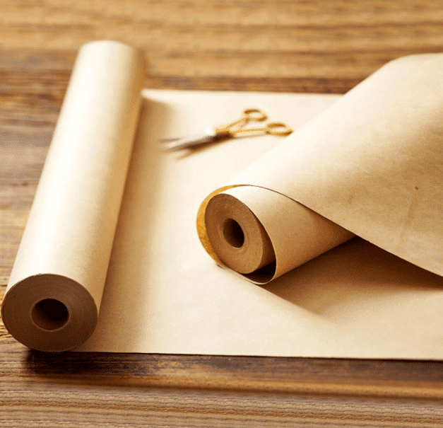 rolls of kraft paper are perfect for life-sized trace portraits, either traced from shadows, or around people laying in fun positions on the paper.