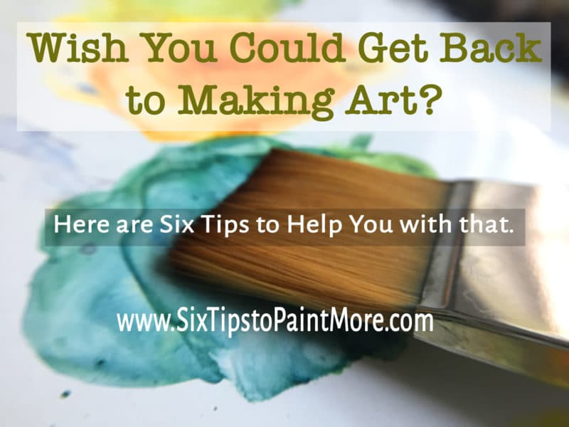 do you wish you were making more art?
