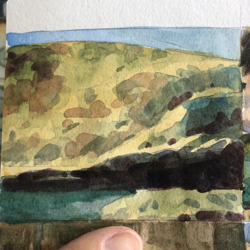 wei/ß Artway 2303261 Aquarell-Skizzenbuch A6 Landscape