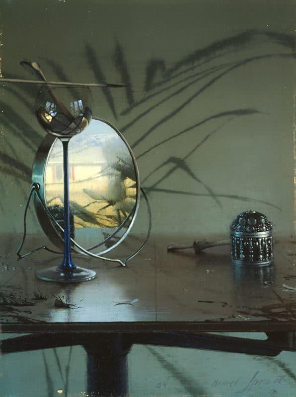 Daniel Sprick Still Life of a Mirror