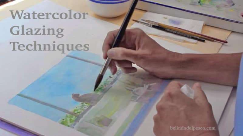 Glazing In Art Watercolour Painting