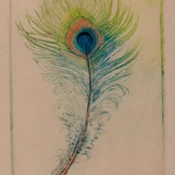 peacock-feather-drypoint-print